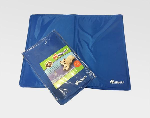 Billipets 寵物涼墊,可供放於室內、車廂、寵物籠內,幫助寵物降溫。