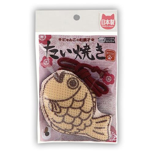 COMET 來刷牙 2 木天蓼玩具系列鯛魚燒