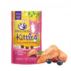 Wellness 寵物健康 - Kittles 三文魚小紅莓 - 2 安士