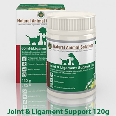 Natural Animal Solutions - 醫療級別關節四補粉 - 120 克