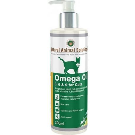 Natural Animal Solutions - 有機奧米加 369 (貓狗通用) - 200 毫升