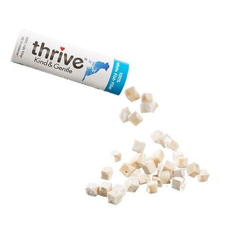 Thrive 脆樂芙 - 冷凍脫水白魚狗小食 - 15 克