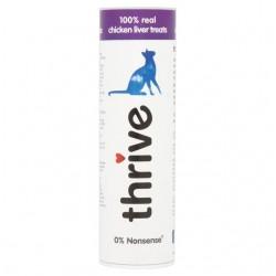 Thrive 脆樂芙 - 冷凍脫水雞肝貓小食 - 25 克