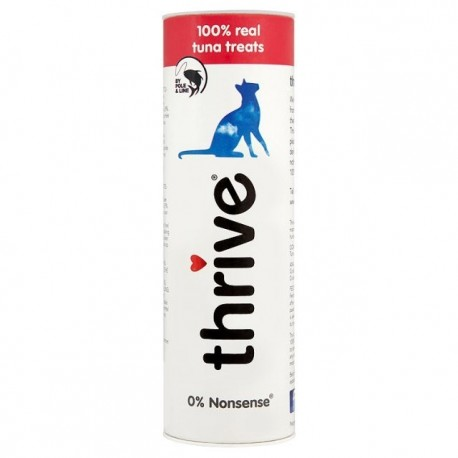 Thrive 脆樂芙 - 冷凍脫水吞拿魚貓小食 - 25 克