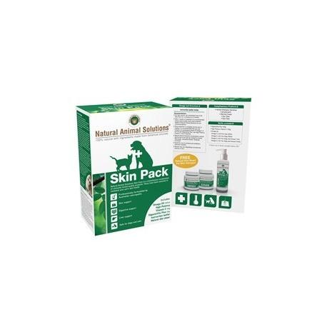Natural Animal Solutions - 根治皮膚病套裝 - 組合