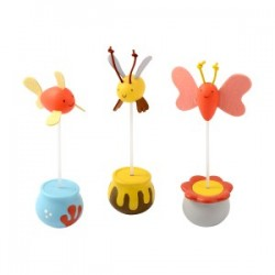 TopZoo - 不倒貓玩具 - 小蜜蜂