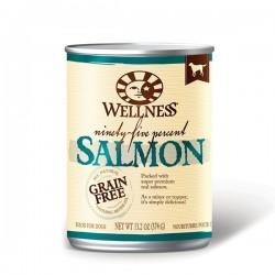 Wellness 寵物健康 - 無穀物 95% 鮮三文魚肉 - 13.2 安士