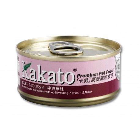 Kakato 卡格 - 牛肉慕絲 - 70 克
