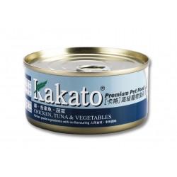 Kakato 卡格 - 雞、吞拿魚、蔬菜 - 170 克