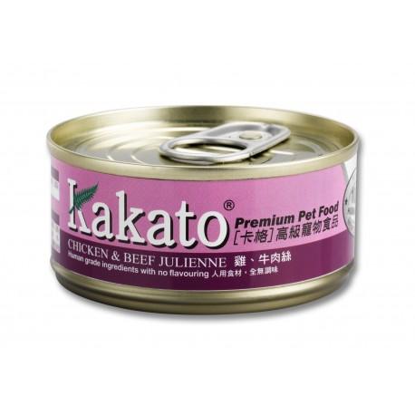 Kakato 卡格 - 雞、牛肉絲 - 70 克