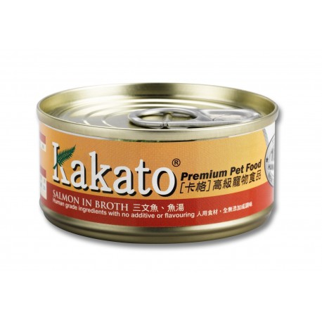 Kakato 卡格 - 三文魚、魚湯 - 70 克