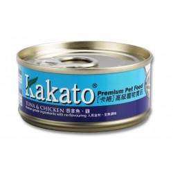 Kakato 卡格 - 吞拿魚、雞 - 70 克