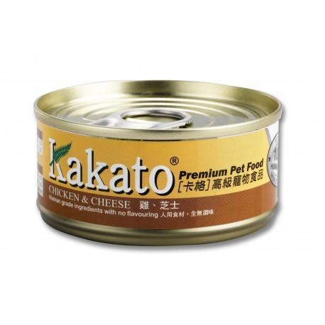 Kakato 卡格 - 雞、芝士 - 70 克