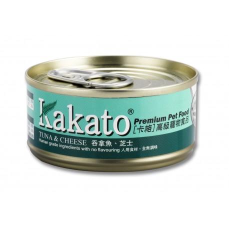 Kakato 卡格 - 吞拿魚、芝士 - 170 克