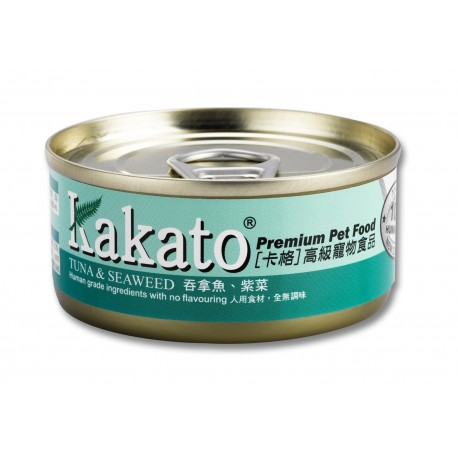Kakato 卡格 - 吞拿魚、紫菜 - 70 克