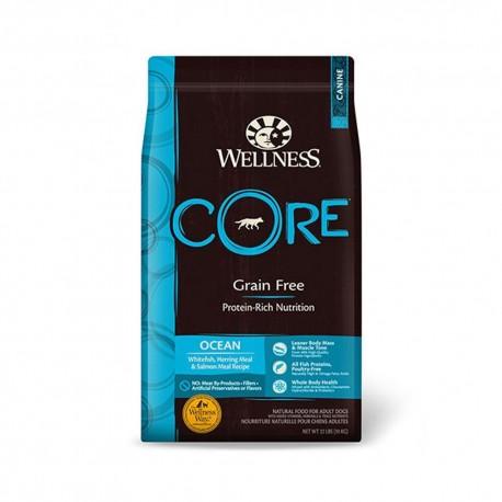 Wellness 寵物健康 - CORE 無穀物皇牌海洋魚配方 - 22 磅