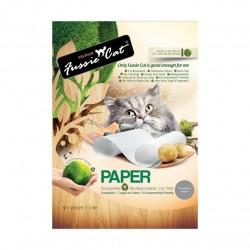 Fussie Cat - 日本環保紙貓砂 - 7 公升