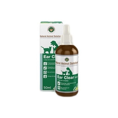 Natural Animal Solutions - 消炎止癢耳藥水 - 50 毫升