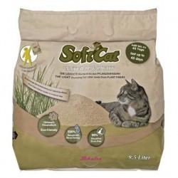 Soft Cat - 超輕天然植物貓砂 - 9.5 公升