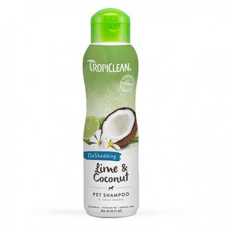 TropiClean - 青檸及椰子油洗毛液 - 355 毫升