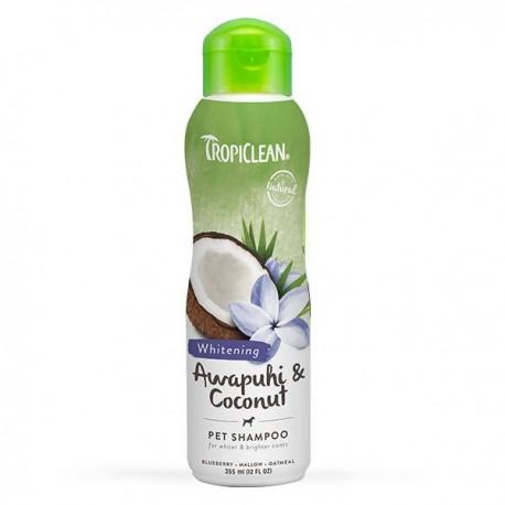 TropiClean - 夏威夷白姜花及椰子油洗毛液 - 355 毫升