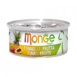 Monge 清新水果系列 - 吞拿魚配雜果 - 80 克