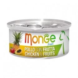 Monge 清新水果系列 - 鮮雞肉配雜果 - 80 克