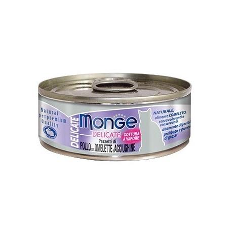 Monge 鮮味雞肉系列 - 雞肉鯷魚奄列 - 80 克