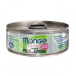 Monge 鮮味雞肉系列 - 雞肉配蘆筍 - 80 克