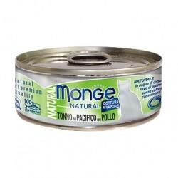 Monge 野生海洋系列 - 黃鰭吞拿魚配雞肉 - 80 克