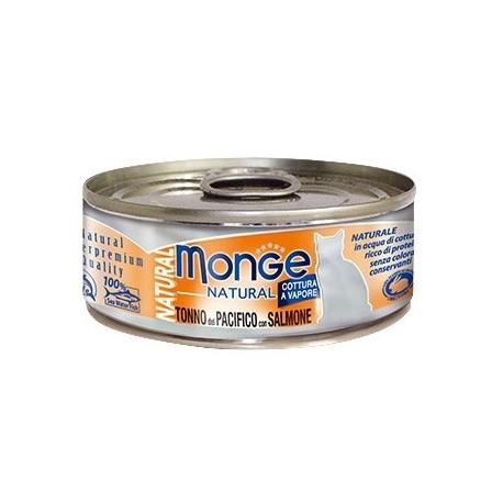 Monge 野生海洋系列 - 黃鰭吞拿魚配三文魚 - 80 克