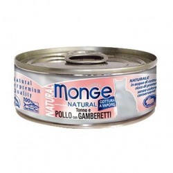 Monge 野生海洋系列 - 吞拿魚雞肉拼海蝦 - 80 克