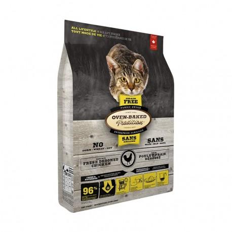 Oven-Baked 奧雲寶 - 無穀物全貓雞肉配方 - 5 磅
