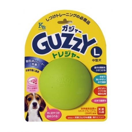 Guzzy - 100% 天然橡膠狗狗咀嚼玩具 - 大