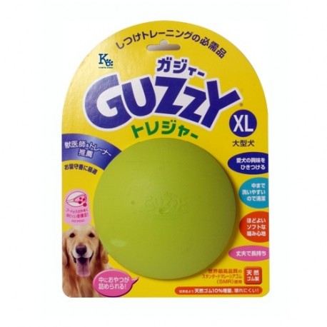 Guzzy - 100% 天然橡膠狗狗咀嚼玩具 - 加大