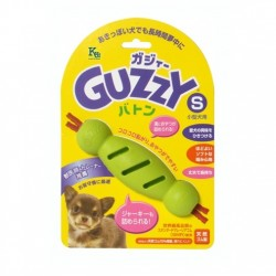 Guzzy - 100% 天然橡膠狗狗咀嚼接力棒玩具 - 細