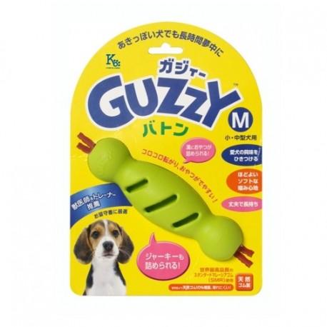 Guzzy - 100% 天然橡膠狗狗咀嚼接力棒玩具 - 中