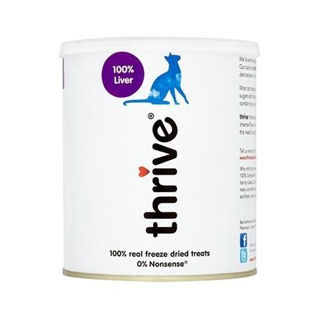 Thrive 脆樂芙 - 冷凍脫水雞肝貓小食珍寶裝 - 135 克