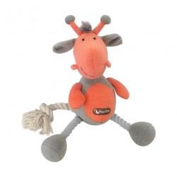 TopZoo - 好朋友系列毛絨玩具 (長頸鹿) - 灰色和珊瑚色