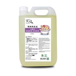 K'9 Natureholic - 白麝香護毛亮色洗毛精 - 1 加侖