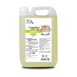 K'9 Natureholic - 檸檬草除蚤抗菌洗毛精 - 1 加侖