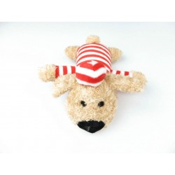 Billipets - 超軟發聲囚犯狗玩具 - 紅色