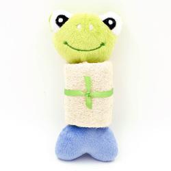 Billipets - 絲瓜絡綿繩發聲玩具 - 青蛙