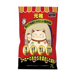 元祖 - 咖啡除臭豆腐貓砂 - 7 公升