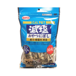 秋元水產 - CAL PET 元氣王減鹽 50% 沙甸小魚乾 (貓犬用) - 150 克