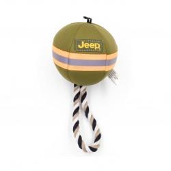 Billipets - Jeep 粗綿繩圓球帆布玩具 - 10 厘米