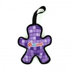 Billipets - BilliDog 耐用發聲人型狗玩具 - 紫色