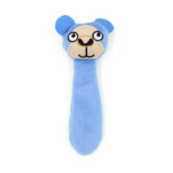 Billipets - 長尾貓草玩具 (猴子) - 粉藍色