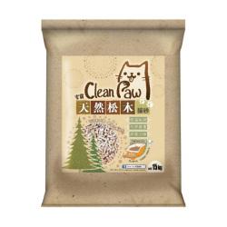 Clean Paw 潔寶 - 天然松木貓砂 - 15 公斤