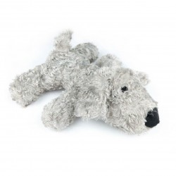 Billipets - 超軟發聲毛毛狗玩具 - 灰色